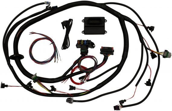LS1 24x modified MicroSquirt® ECU with Plug and Play harness